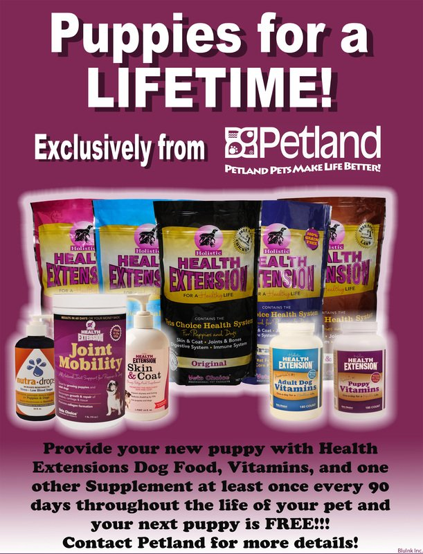 buy pet health products at Petland Strongsville, OHIO